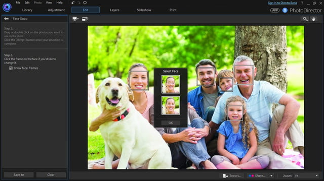 cyberlink director suite 4s new features include action cam video editing face swap