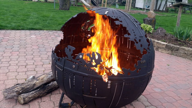 death star fire pit onqpvgt