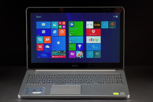 Dell Inspiron 15 7000 review front screen 2