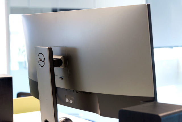 Dell UltraSharp U3818DW review back angle
