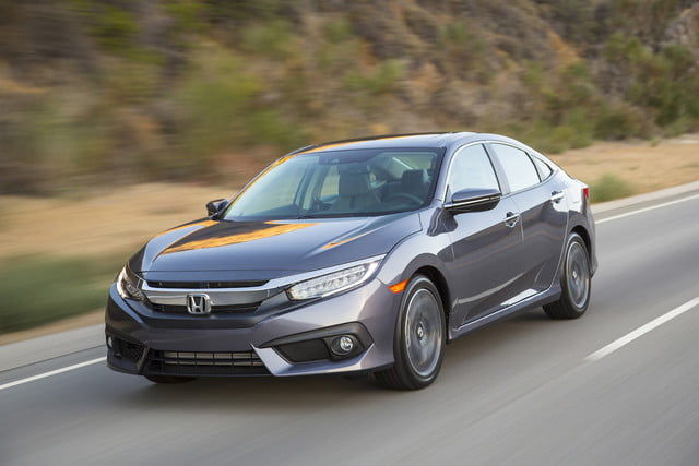 2016 Civic Front Angle