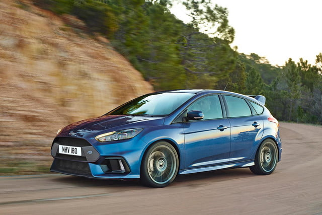 2016 Ford Focus RS press side