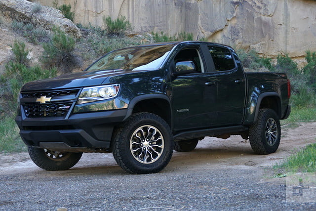 2017 Chevrolet Colorado ZR2 offers off-road capability and