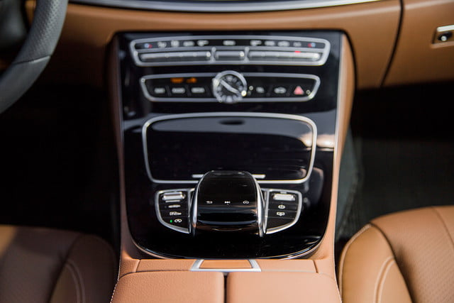 2017 mercedes benz e300 first drive e class center console