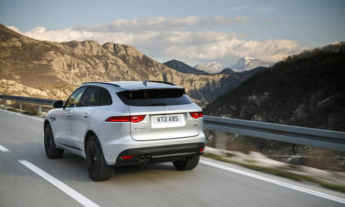 2019 Jaguar F-Pace Gets More Driving Aids and New