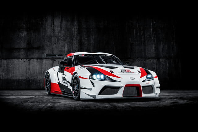 toyota displaying eight supra based builds at sema 2019 grsupra racingconcept 03