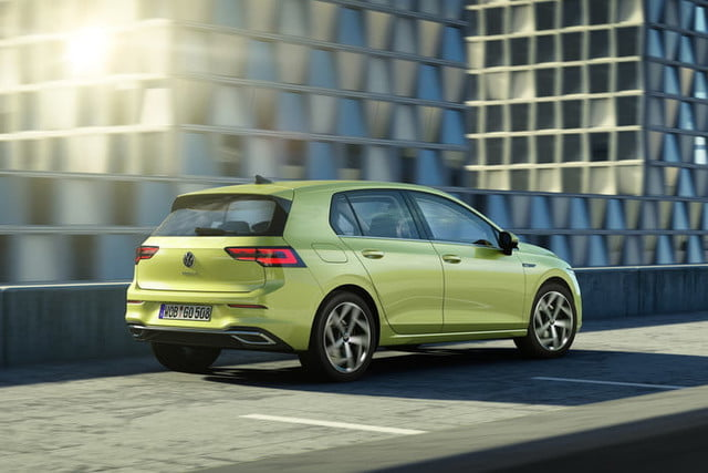 new 2020 volkswagen golf gets big tech powertrain upgrades official 8