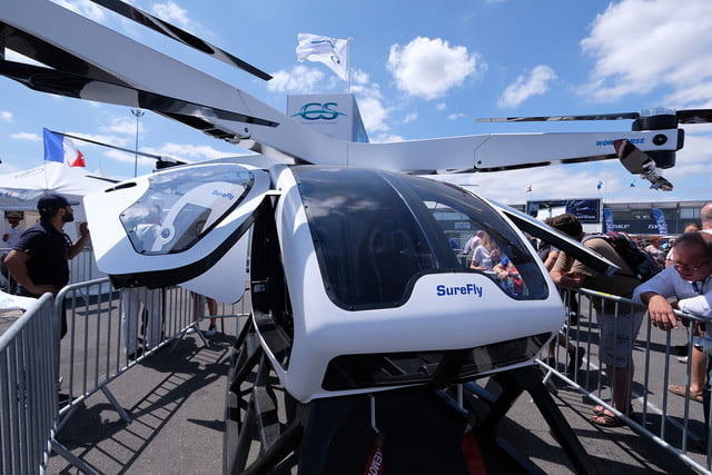 surefly hybrid air taxi 52nd international paris show  day 5