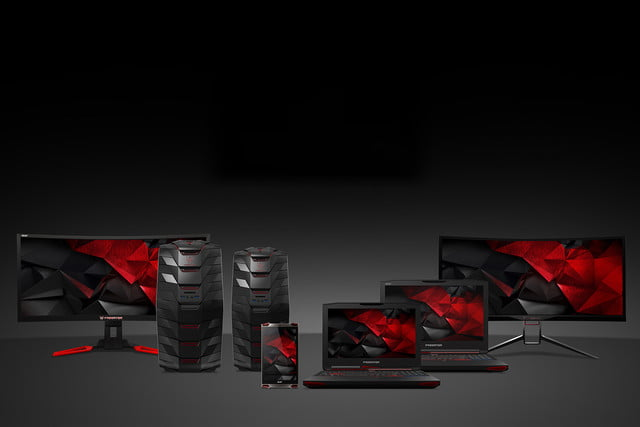 acer gives gamers the gear they need for glory with new predator hardware family 1