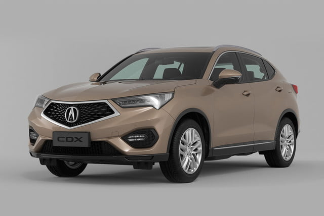 2017 acura cdx revealed at 2016 beijing auto show cdr 1