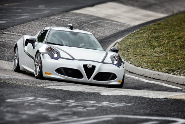 nurburgring might best track world also bad car alfa 4c on