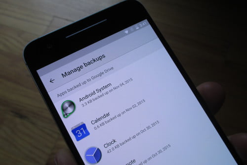 How to Back Up Apps in Android 6 0 Marshmallow   Digital Trends
