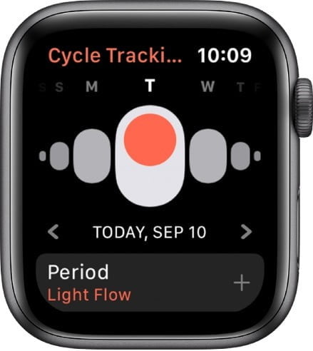 how to track your period with cycle tracker on the apple watch 2
