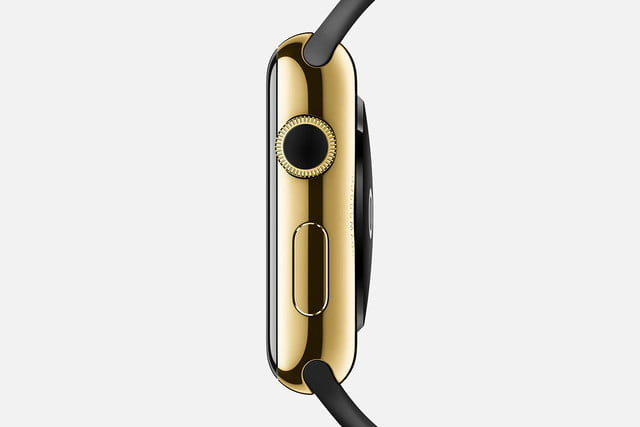 apple watch release news edition yellow gold black crown
