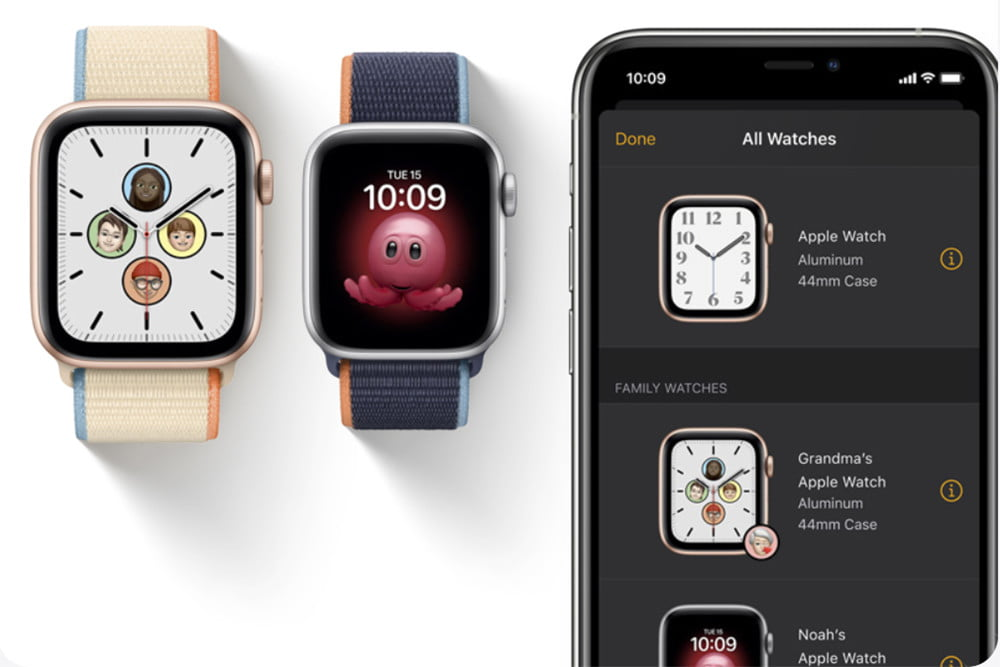 Configuring the Apple Watch family