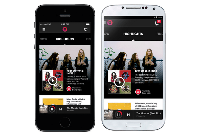 beats music review android and iphone