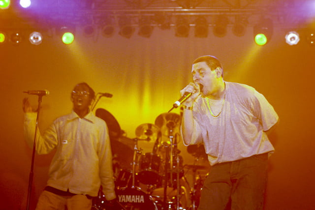 the audiophile black grape performing at forum  london britain oct 1995