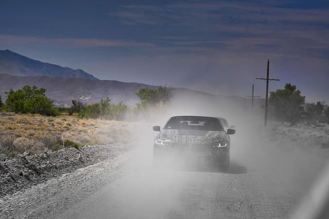bmws tests its latest 8 series convertibles prototype in death valley bmw convertible testing  9