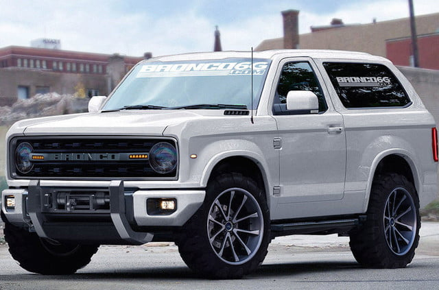 Bronco6G Render front angle white