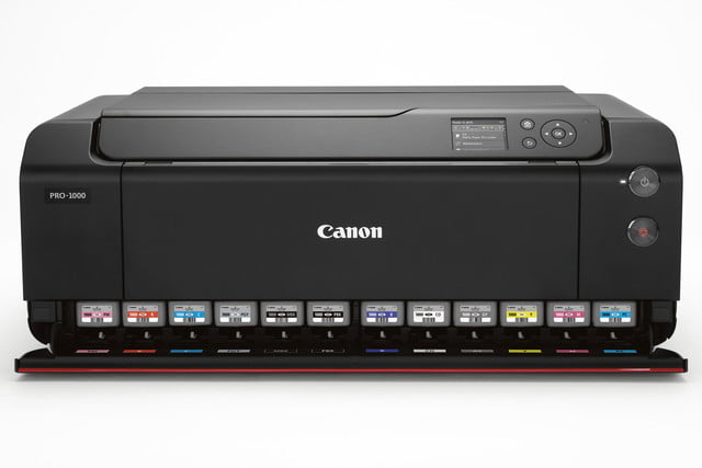the stunning feature of canons new printer is not just tech but design canon imageprograf pro1000 1