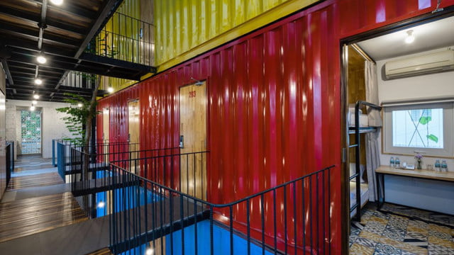 vietnamese shipping container hostel ccasa by tak architects 06