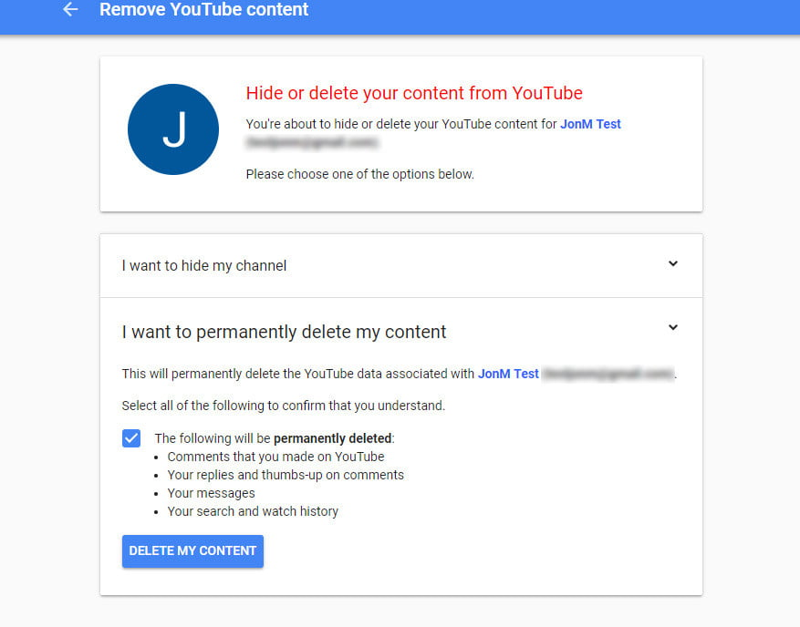 This Is How To Delete Your Youtube Account In A Few Quick