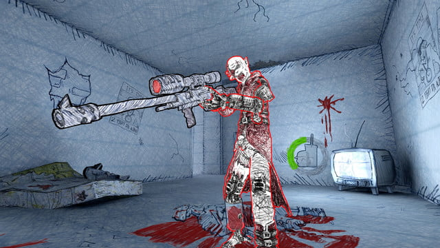 drawn to death hands on review screenshot 6