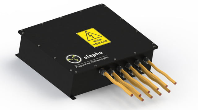 Elaphe Propulsion Technologies HV connection box