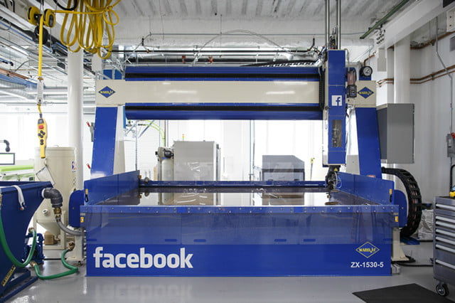 facebook area 404 hardware lab 5 axis water jet