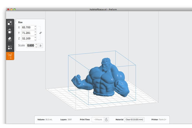formlabs form 1 sla review software