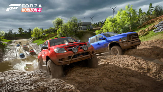 Forza Horizon 4 Muddy Hill