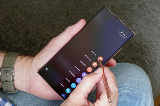 samsung galaxy note 20 ultra review s pen menu