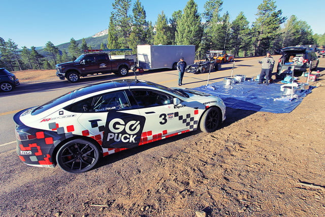 tesla model s pikes peak record go puck img 0809