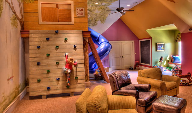 houses with amazing indoor slides greenville estate kids room