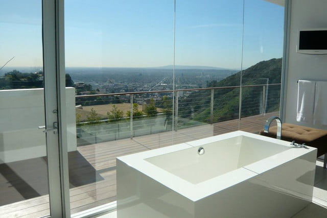 homes with their own shark tanks hollywood hills sharks 17 copy