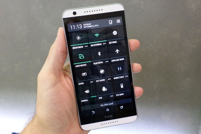 htc desire 820 hands on full menu