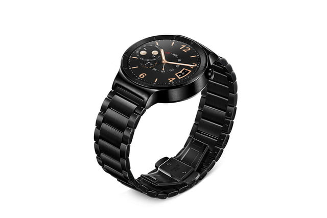 huawei watch news black left angle