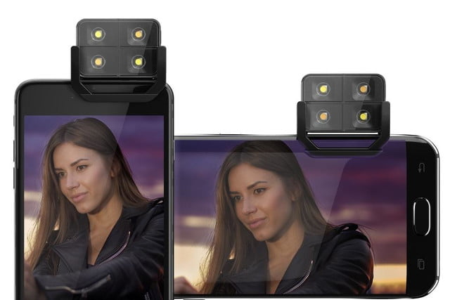 smartphone flash too harsh the iblazr 2 lets you adjust color temperature devices
