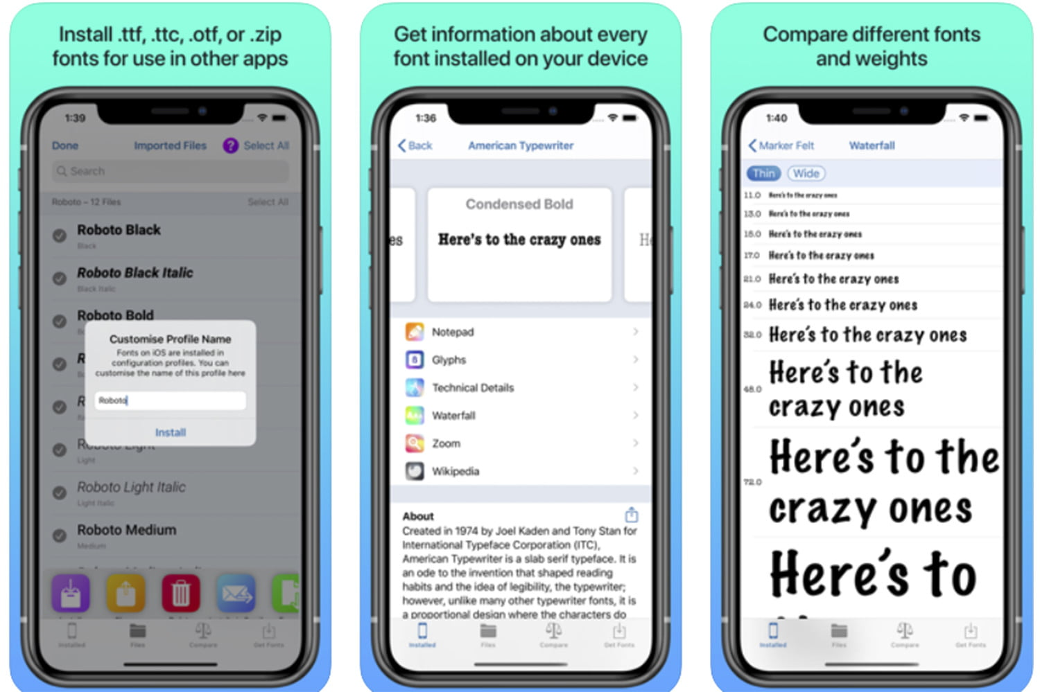 The Best Font Apps For Iphone And Ipad Digital Trends