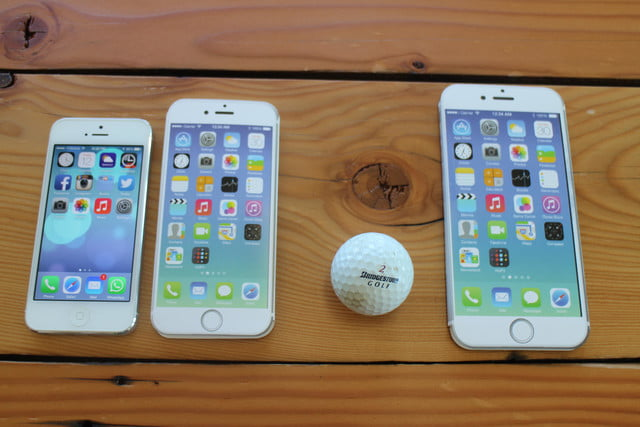 iphone 6 plus size comparison golf ball
