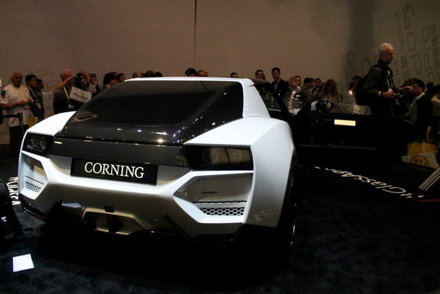 Corning Connected Car concept