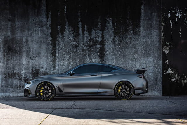 Infiniti Project Black S prototype