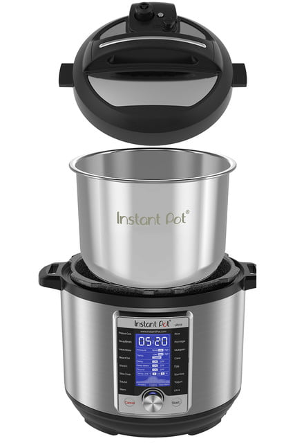 walmart cuts price on instant pot ultra 6 quart 10 in 1 multi use cooker qt programmable pressure 4
