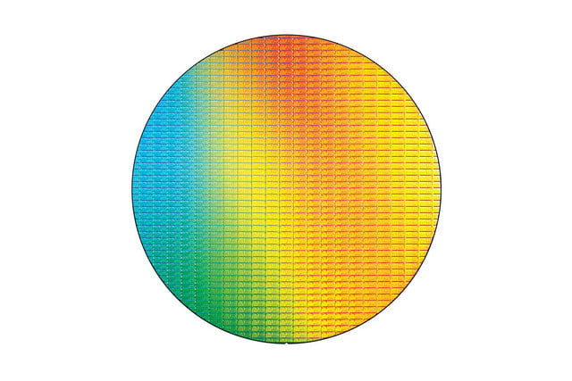 Intel Core M Broadwell Y 14nm Wafer