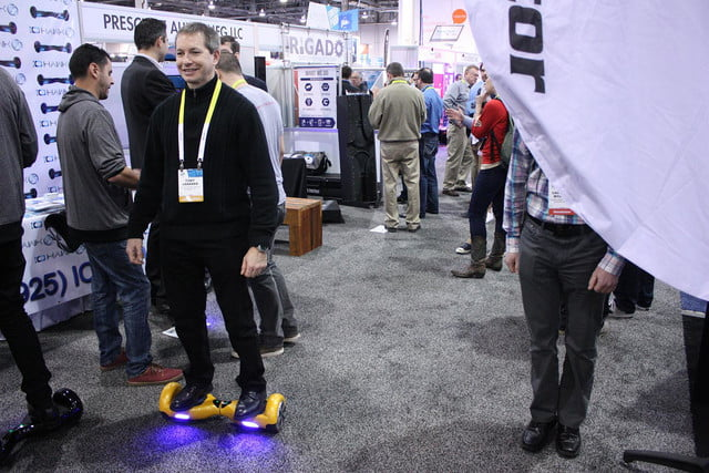 io hawk is a self balancing skateboard in the vein of segway 5