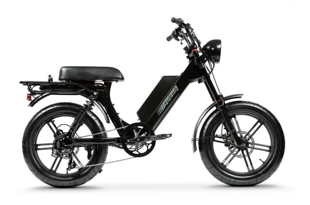 juiced bikes scorpion moped style e bike packs performance safety and comfort 03