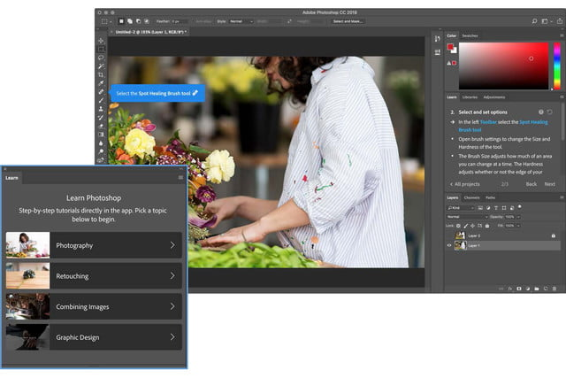 adobe photoshop 2018 updates max 2017 learn panel copy