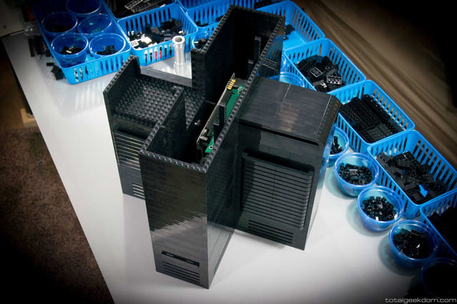 Lego Gaming Computer Lower System Section