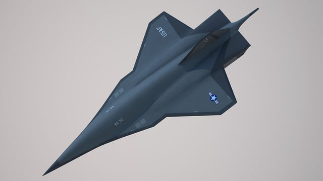 high speed concepts that could mark the return of supersonic travel lockheed martin sr 72 hypersonic aircraft 6