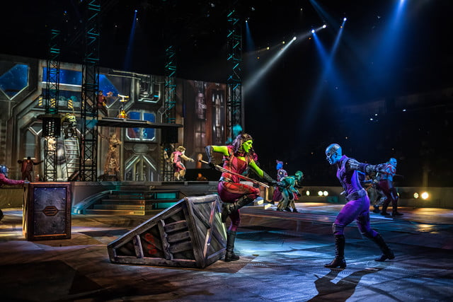 marvel universe live circus age of heroes on stage 5